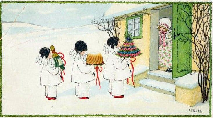 Edwardian-style Christmas