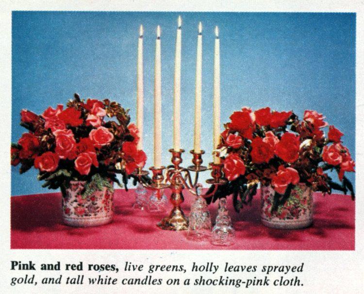Christmas centerpieces (1963)