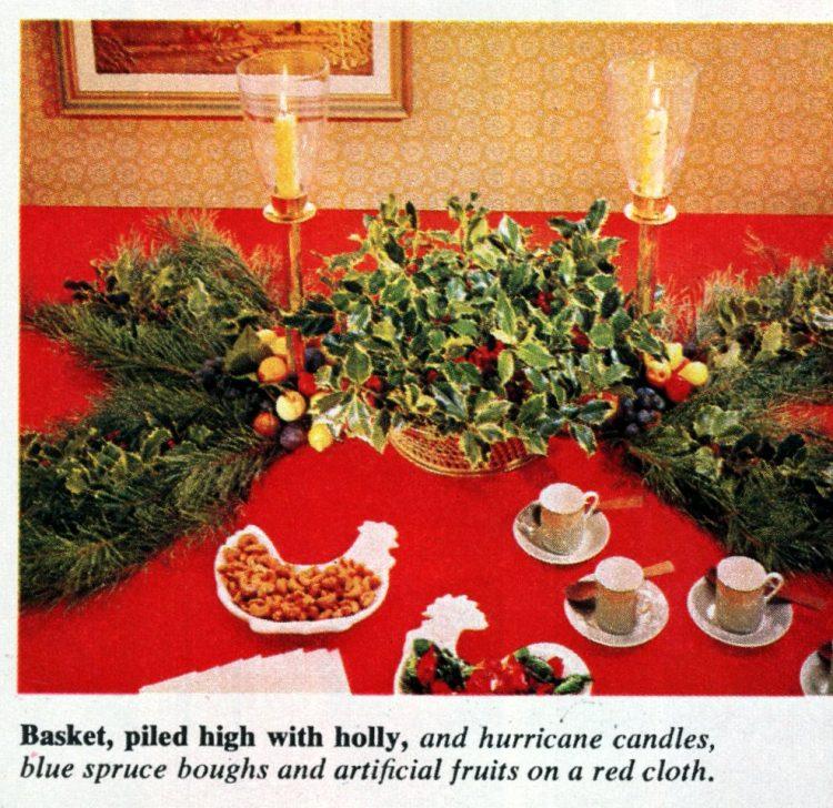 Christmas centerpieces (1964)