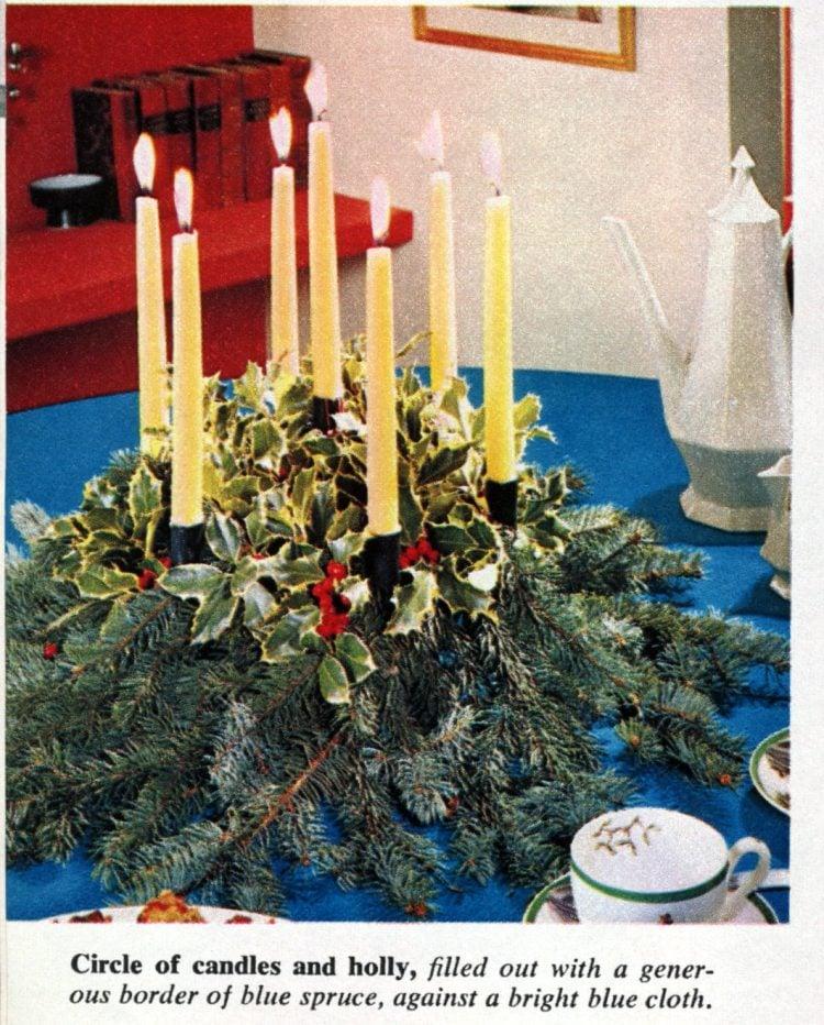 Christmas centerpieces (1965)