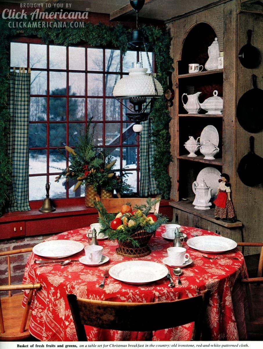 Merry & bright Christmas centerpieces (1962)