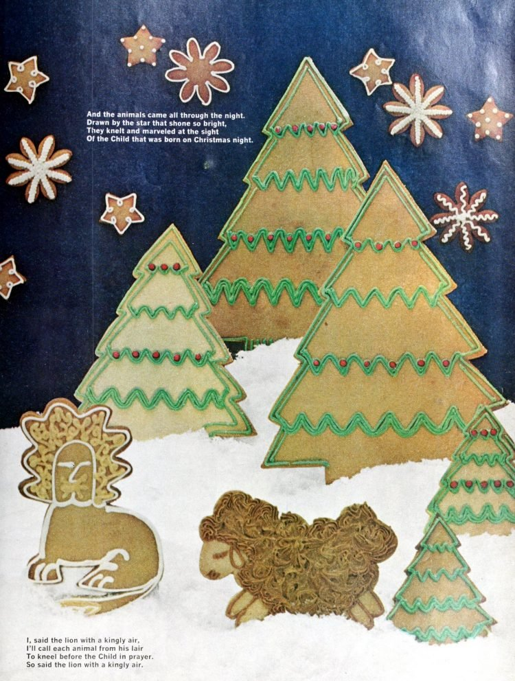 Christmas cookies from 1967