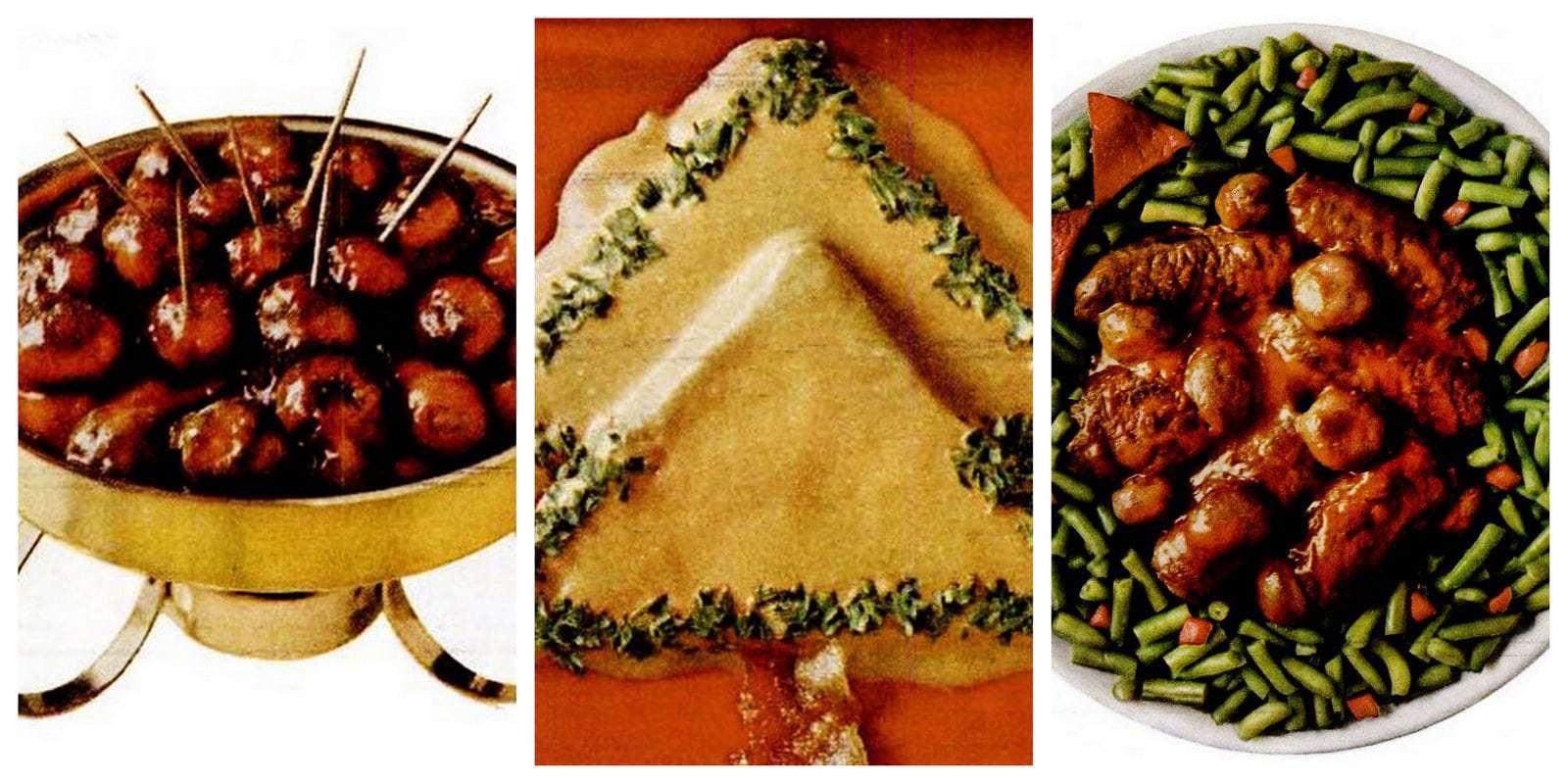 Christmas recipes - Campbell's Santa Sauce recipe (1969)