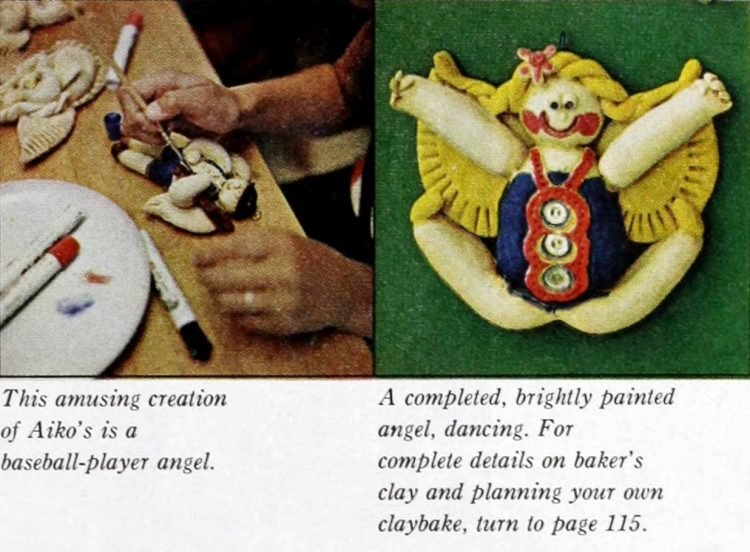 Christmas salt dough ornaments - 1964 craft guide (11)