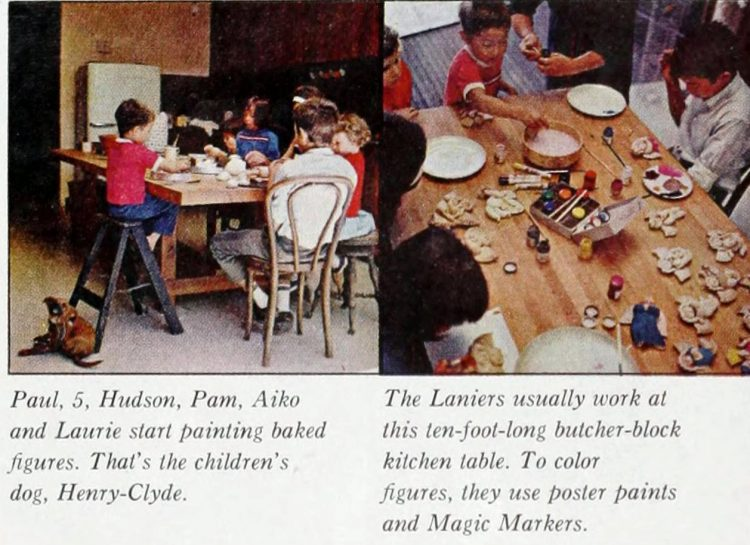 Christmas salt dough ornaments - 1964 craft guide (4)