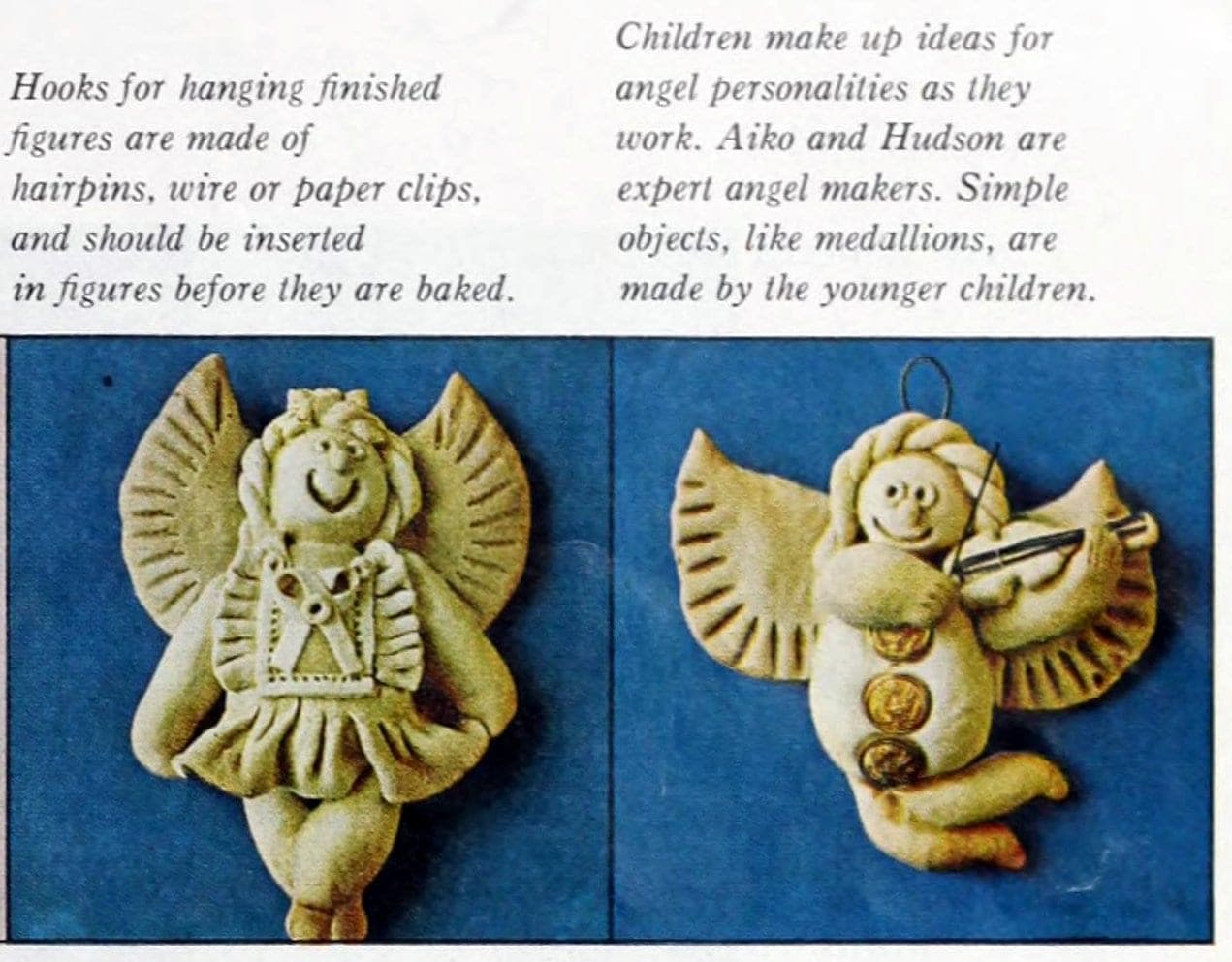 Christmas salt dough ornaments - 1964 craft guide (9)