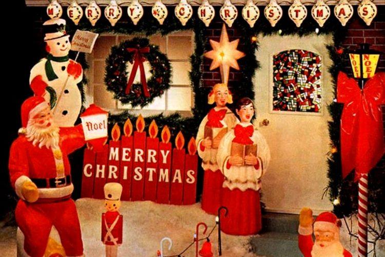 Christmas scene 1969
