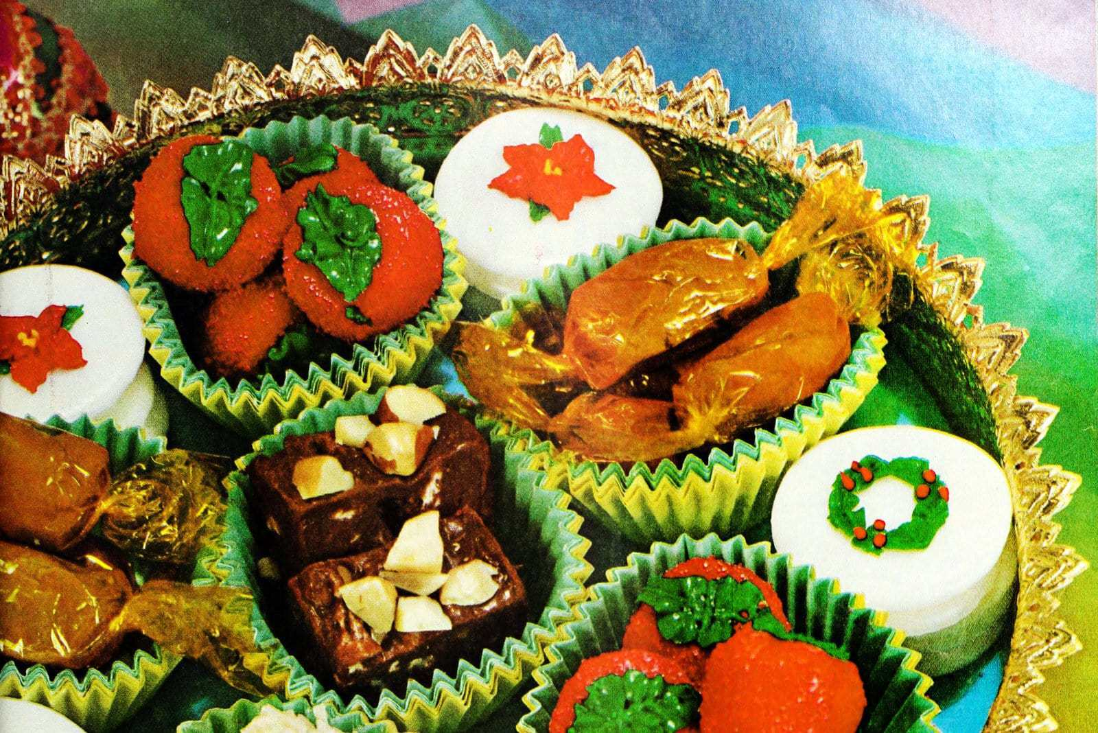 Christmas Sweets.Classic Christmas Sweets Homemade Candy Fudge Recipes