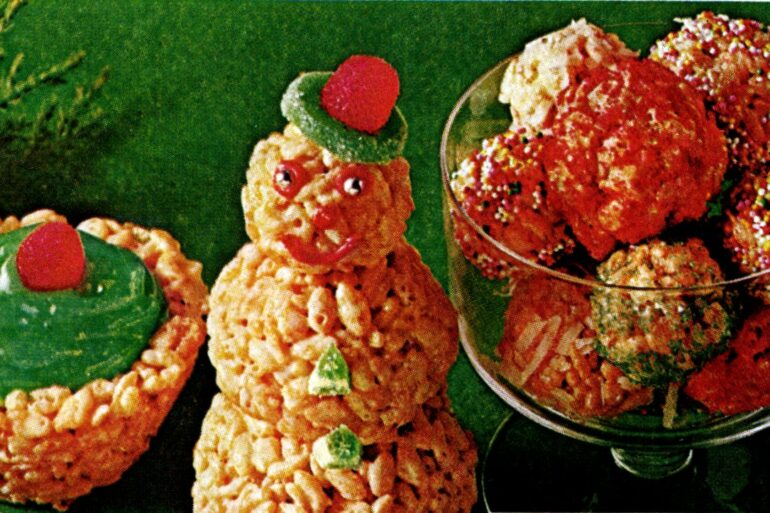 Christmas 'tis the season for Merry Rice Krispies Treats (1970s)