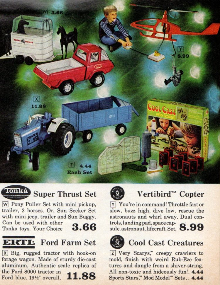 Christmas toys from the hardware store back in the 70s (1)