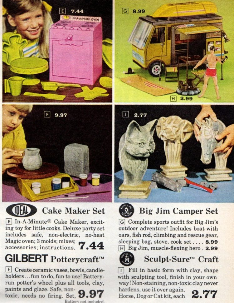 Christmas toys from the hardware store back in the 70s (6)