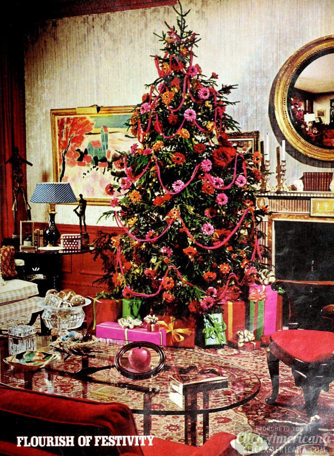 Christmas trees from the seventies (1)