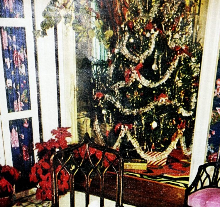 Christmas trees from the seventies (2)