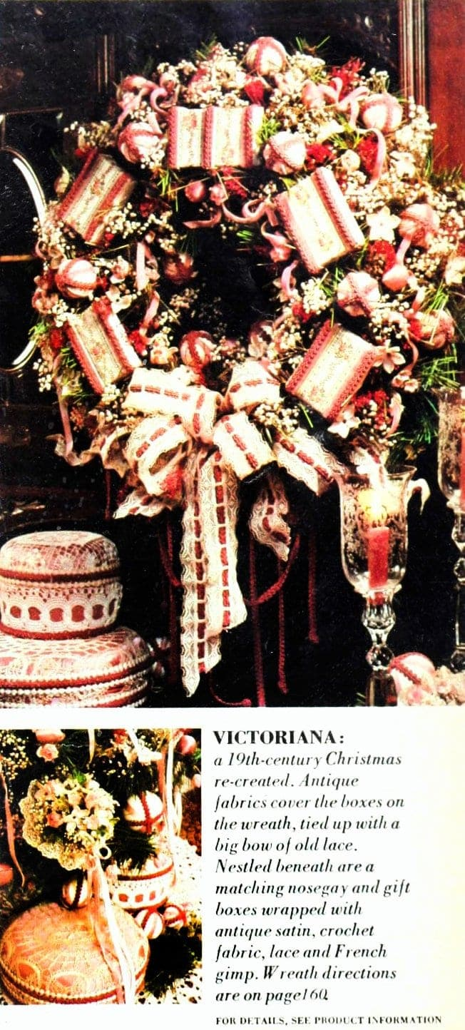 Christmas wreaths and door decor from the 1970s (1)