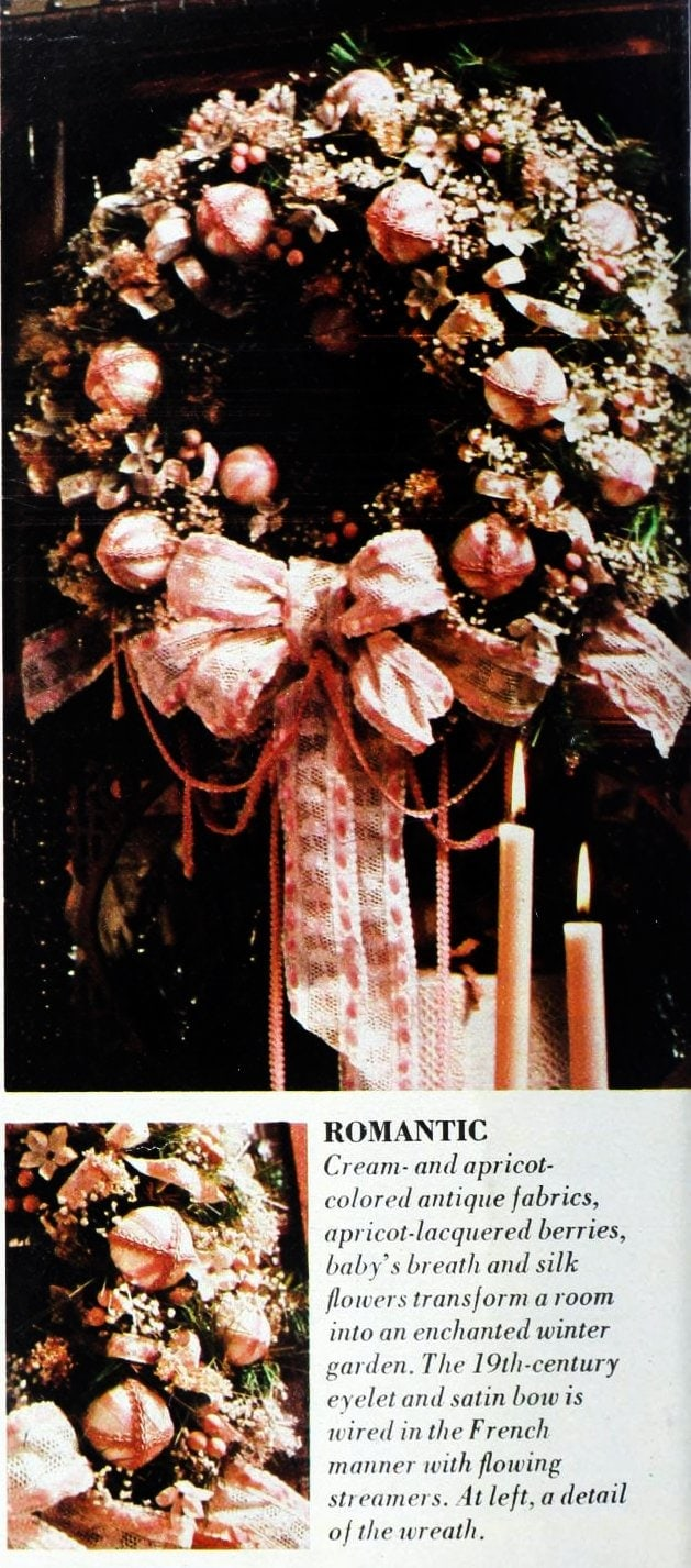 Christmas wreaths and door decor from the 1970s (5)