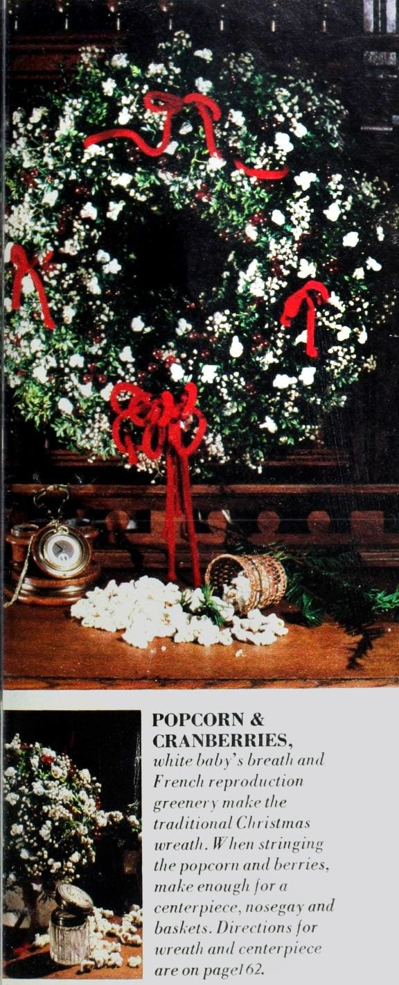 Christmas wreaths and door decor from the 1970s (6)