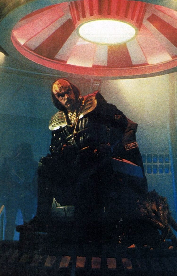 Christopher Lloyd as a Klingon in Star Trek III: The Search for Spock