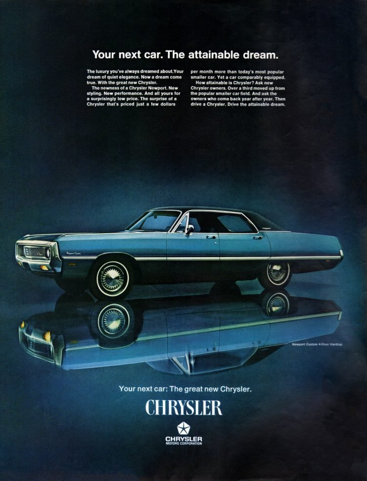 Chrysler Newport - Classic car from 1969