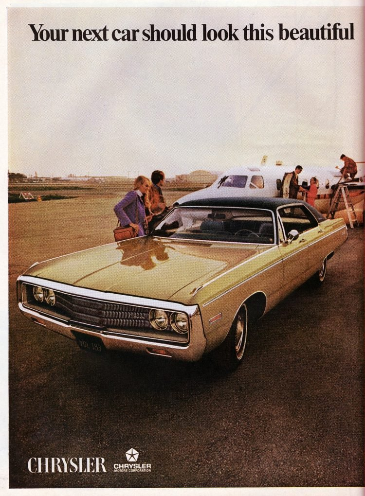 Chrysler Newport - Classic car from 1970 - 1969 debut