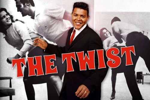 Chubby Checker does The Twist dance