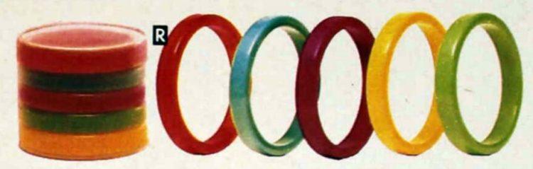 Chunky retro bangle bracelets from the 80s (6)