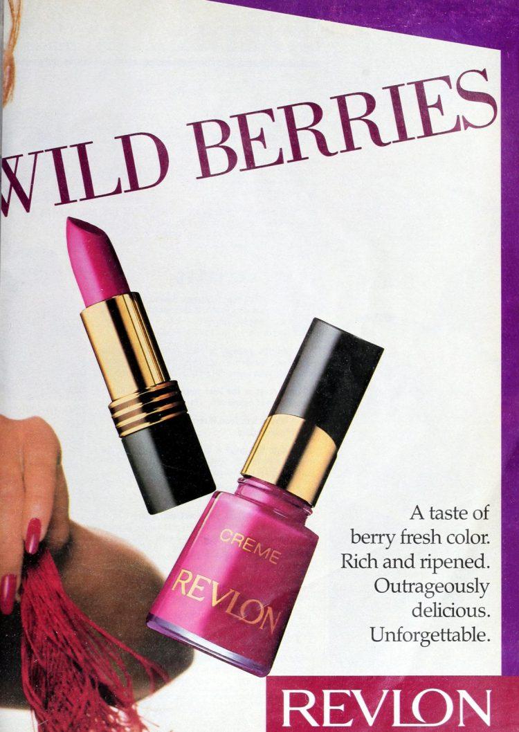 Cindy Crawford for Revlon 1989 (1)