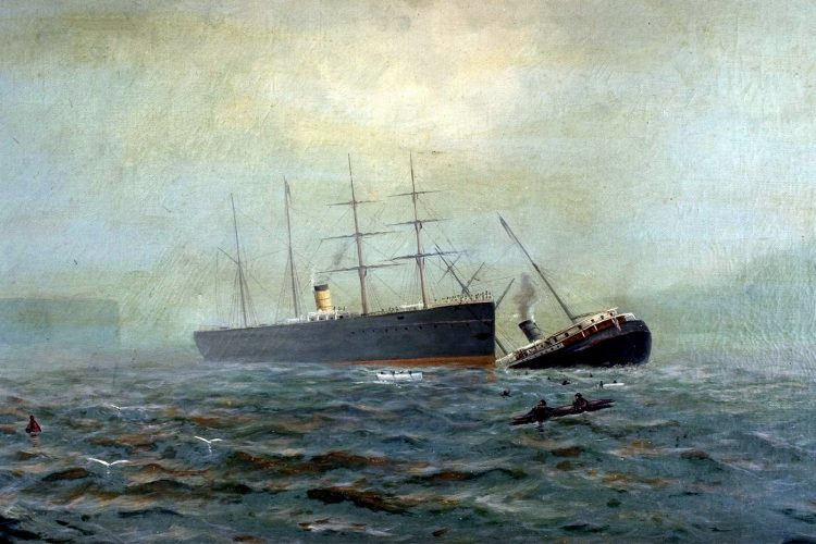 How the City of Chester steamship sank in the SF Bay in 1888 – and was found in 2014