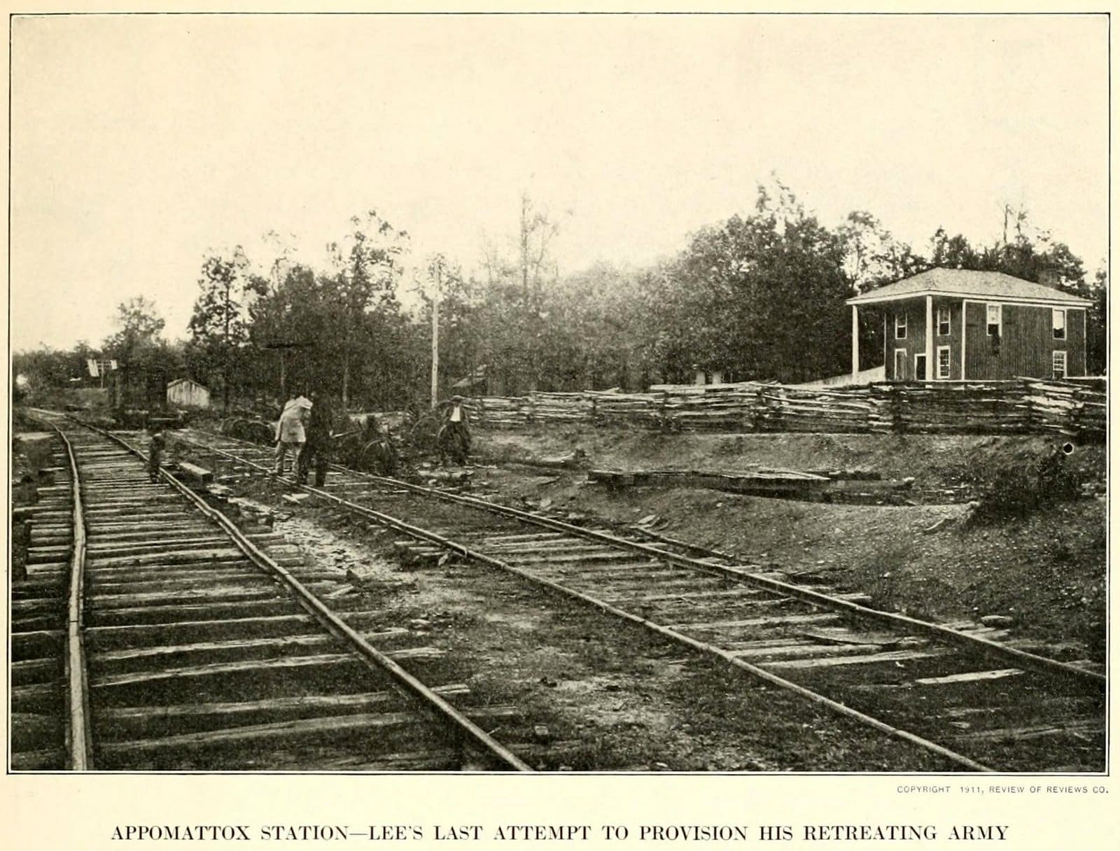 Civil War - Appomattox Station - Lee's last attempt to provision his retreating army