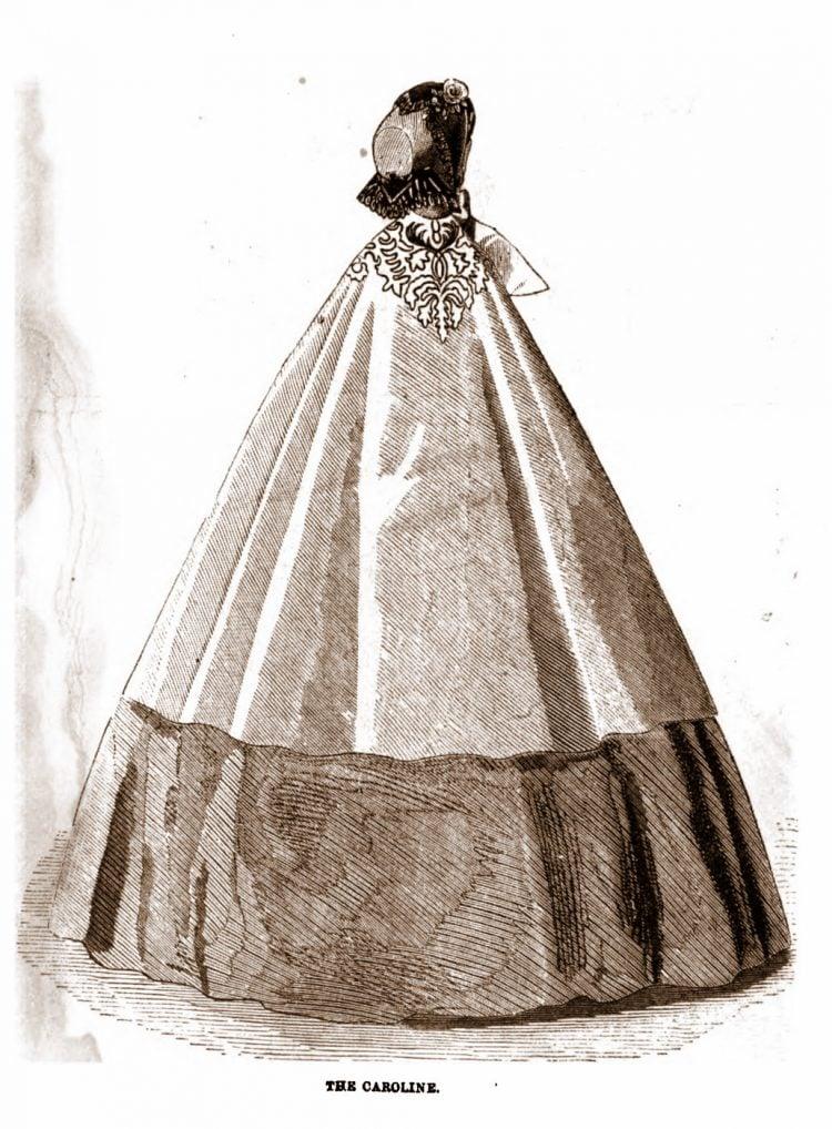 Civil War-era dresses - Antique fashion from 1862 (5)