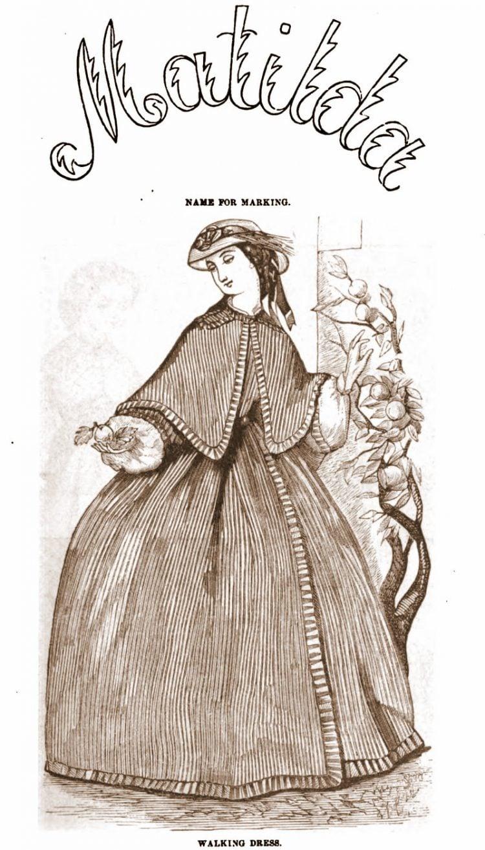 Civil War-era dresses - Antique fashion from 1862 (7)