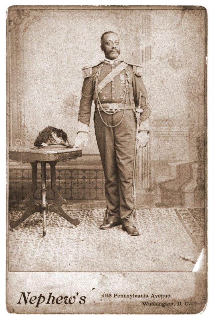 Civil War soldier portrait - Washington DC