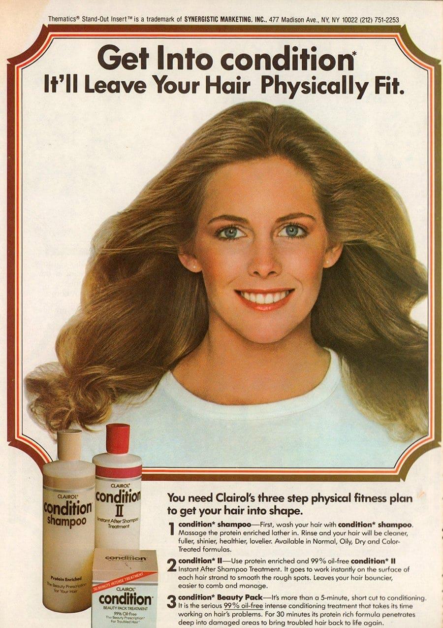 Clairol's Condition II shampoo and conditioner 1984