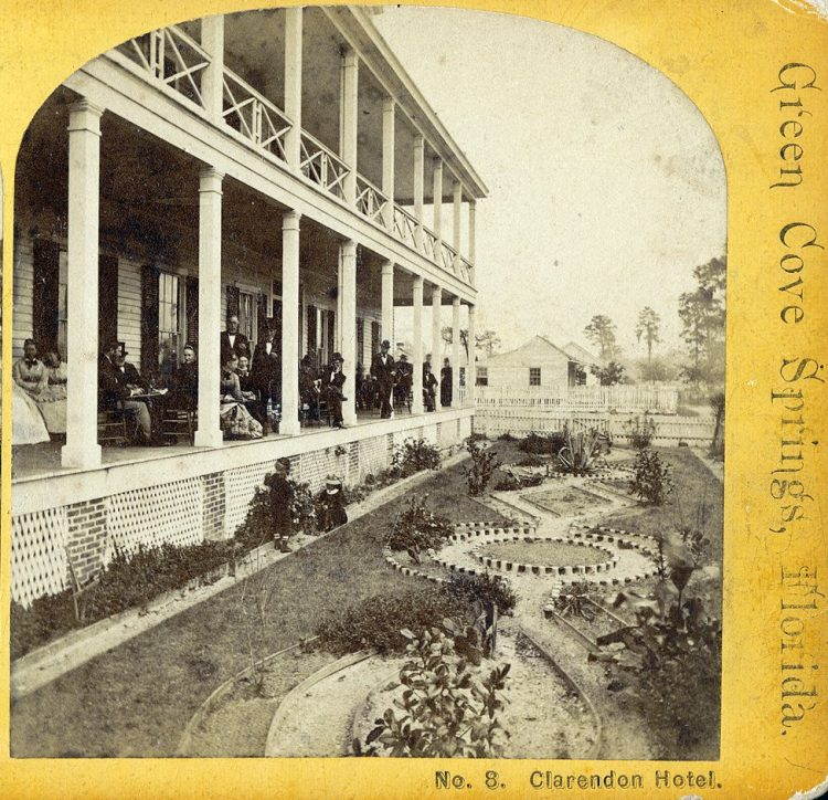 Clarendon Hotel Green Cove Springs, Florida. Southern