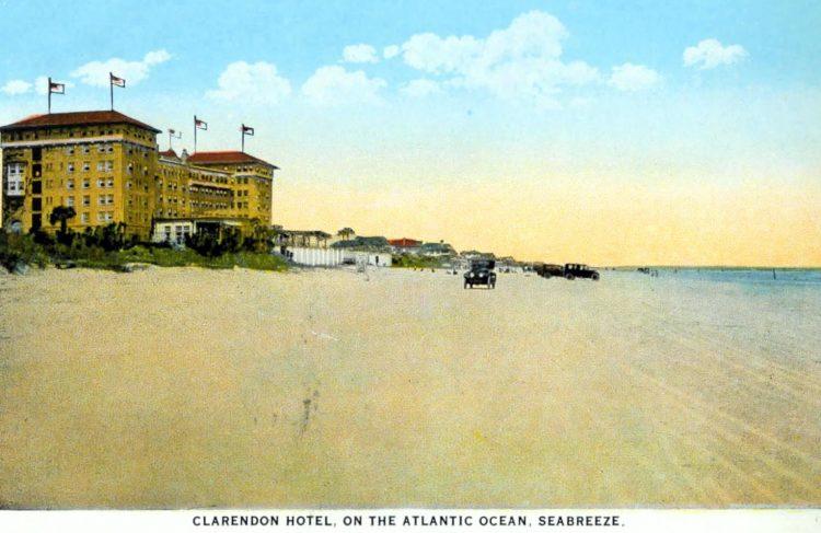 Clarendon Hotel - Old Florida c1917