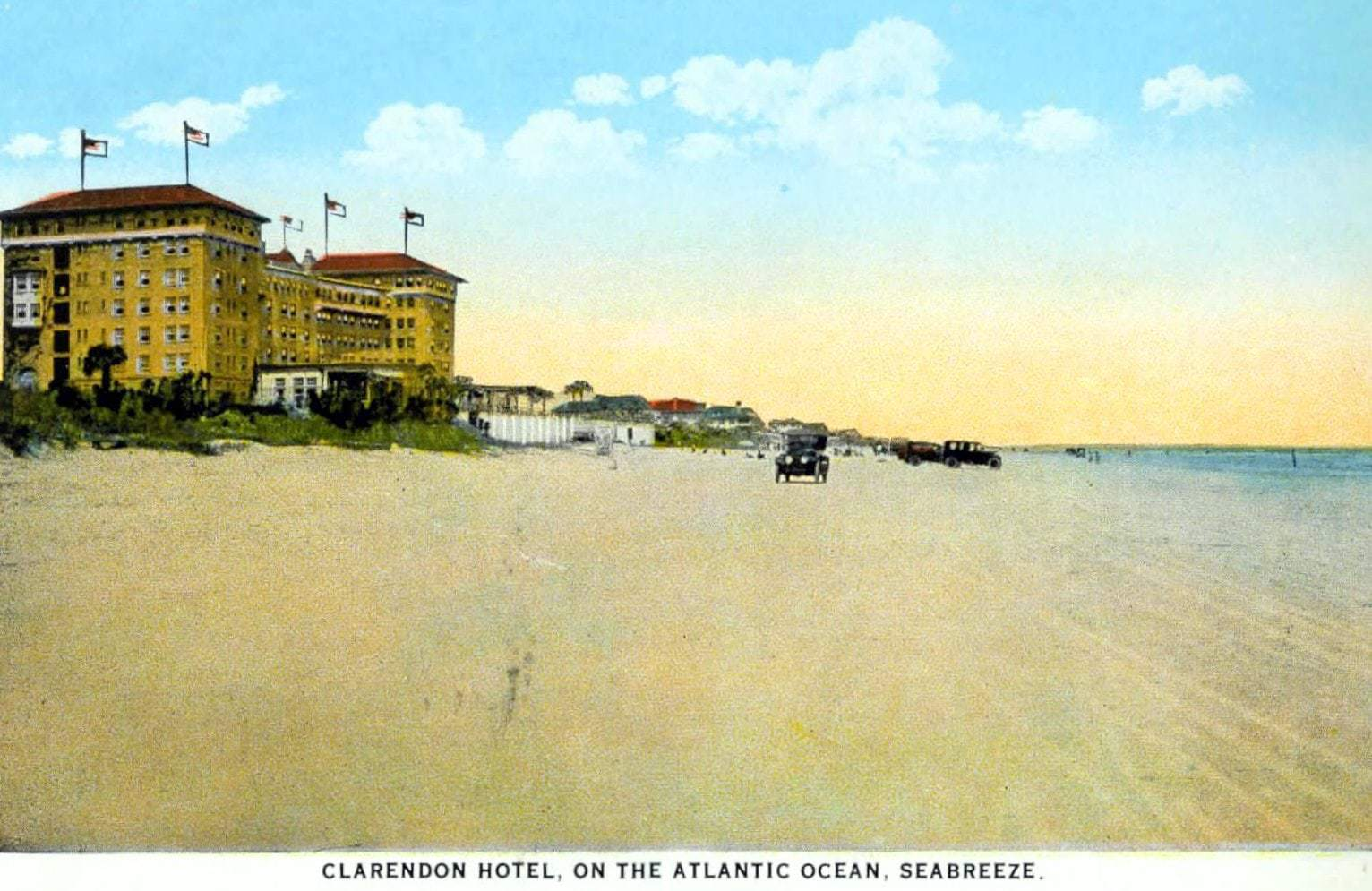 Clarendon Hotel - Old Florida c1917
