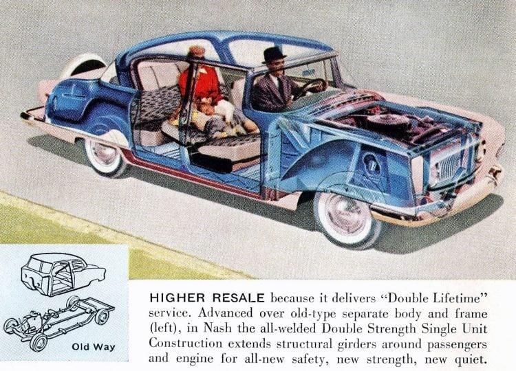 Classic 1955 Nash Ambassador cars (2)