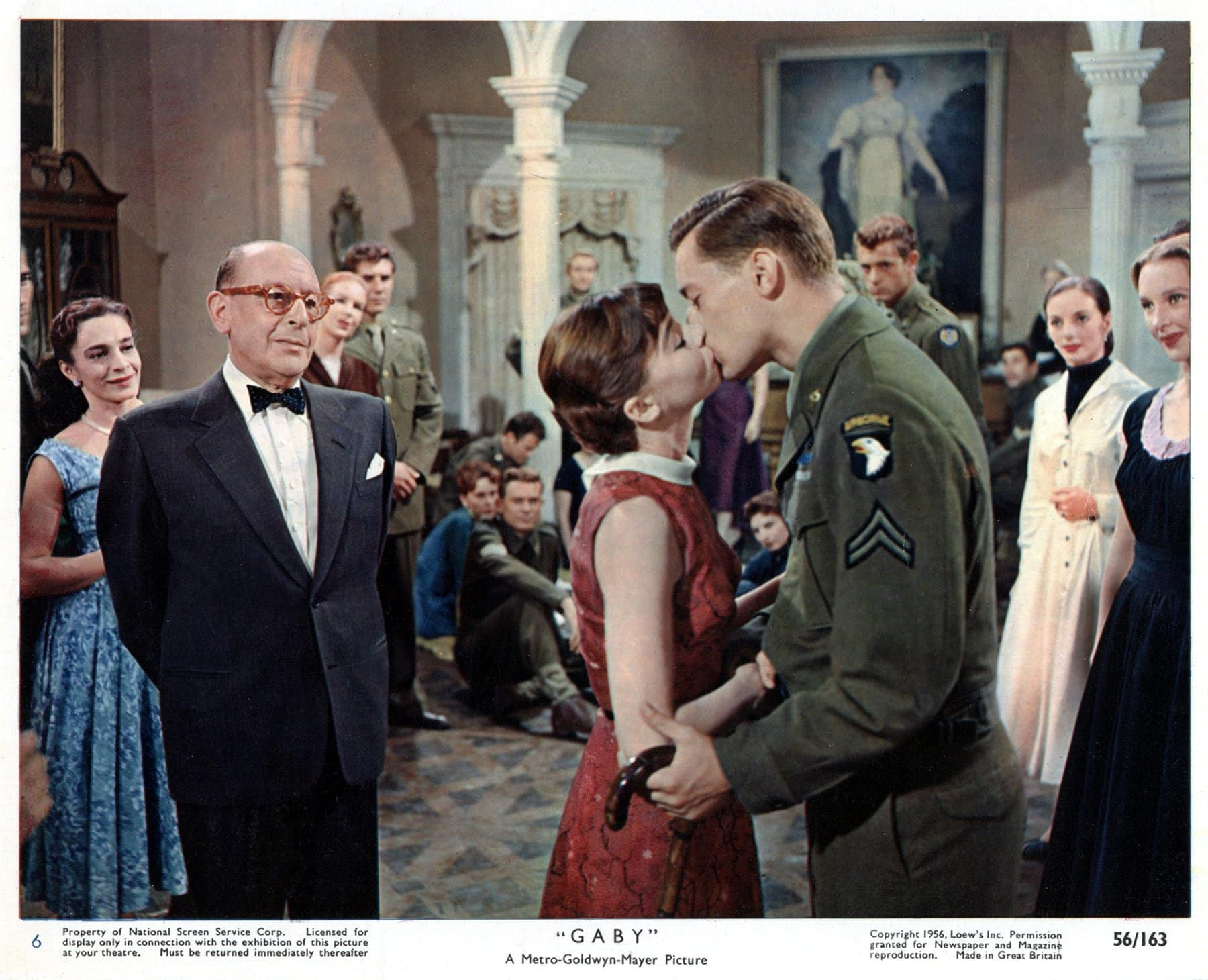 Classic 1956 movie Gaby with Leslie Caron (1)