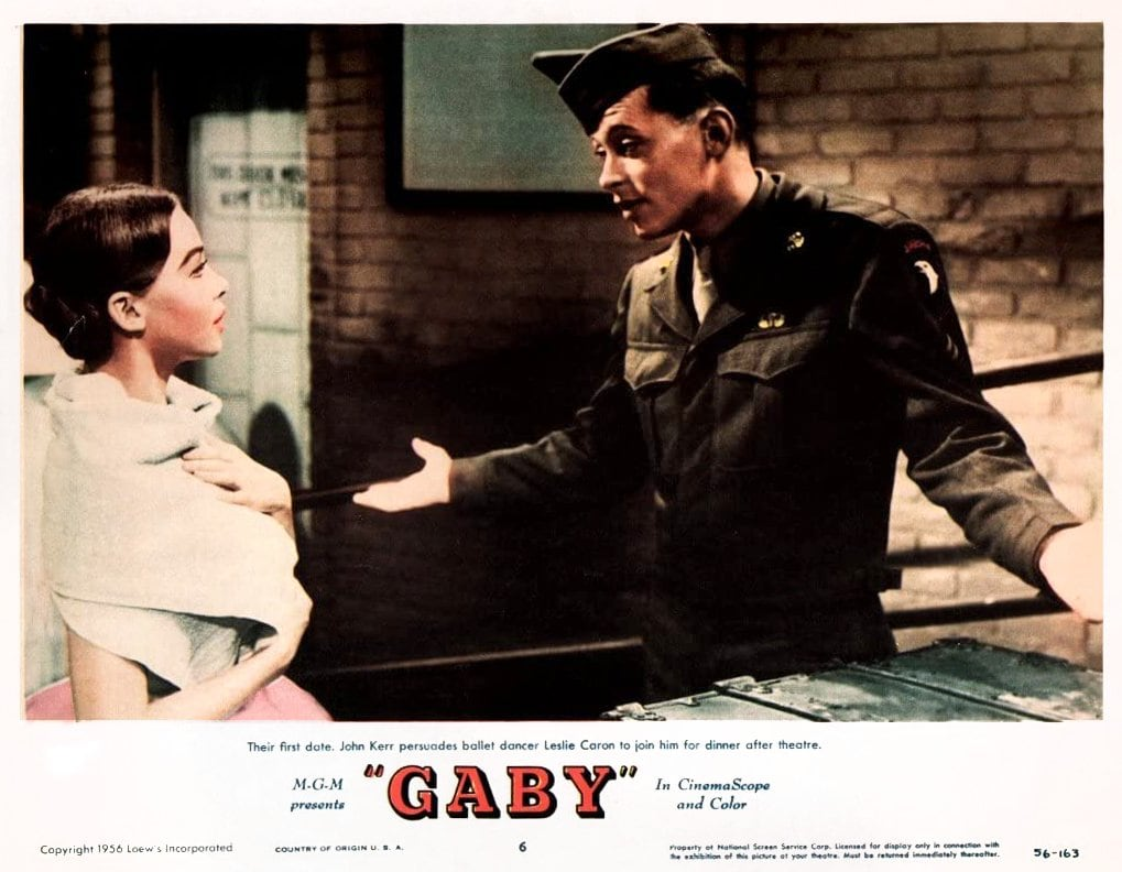 Classic 1956 movie Gaby with Leslie Caron (2)