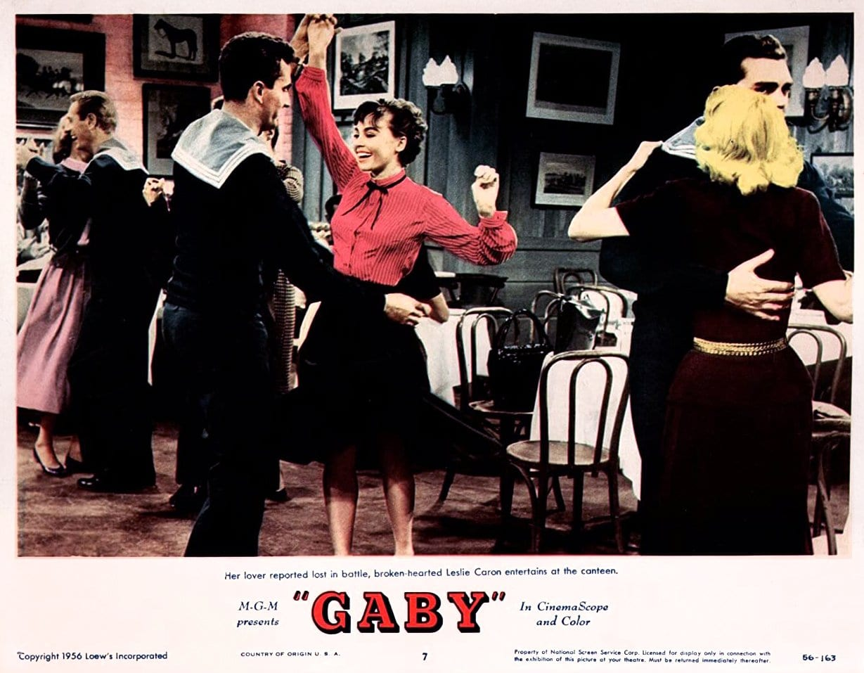 Classic 1956 movie Gaby with Leslie Caron (3)