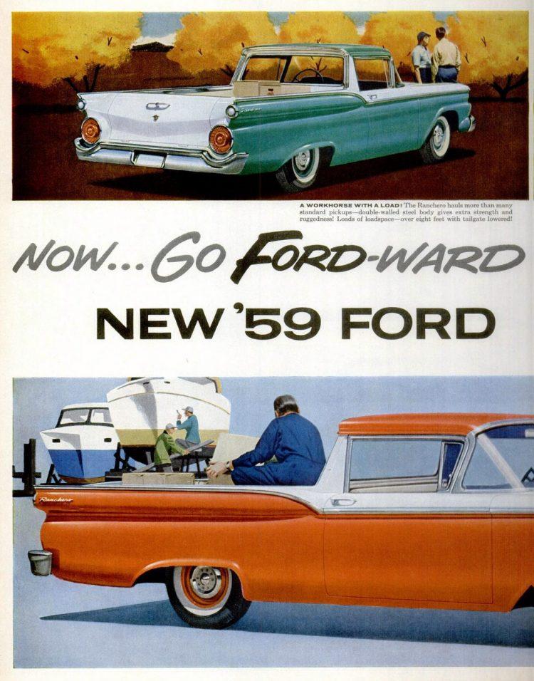 Classic 1959 Ford Ranchero trucks (2)