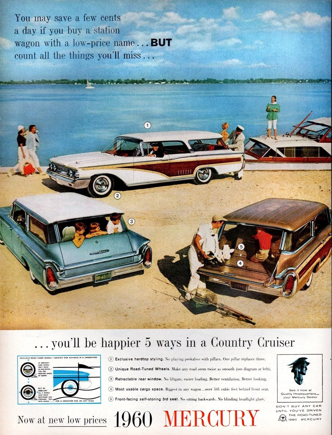 Classic 1960 Mercury Country Cruisers