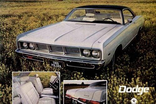 Classic 1960s Dodge Polara cars