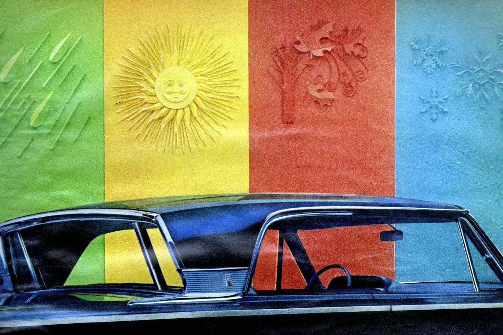 Classic 1963 Mercury Monterey car