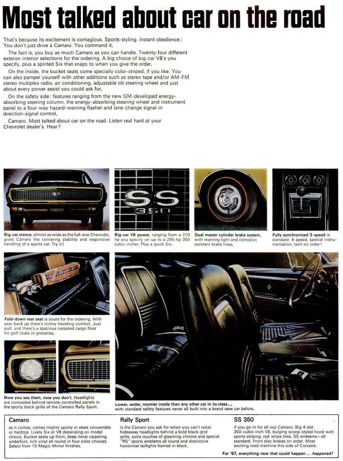 Classic 1967 Chevy Camaro