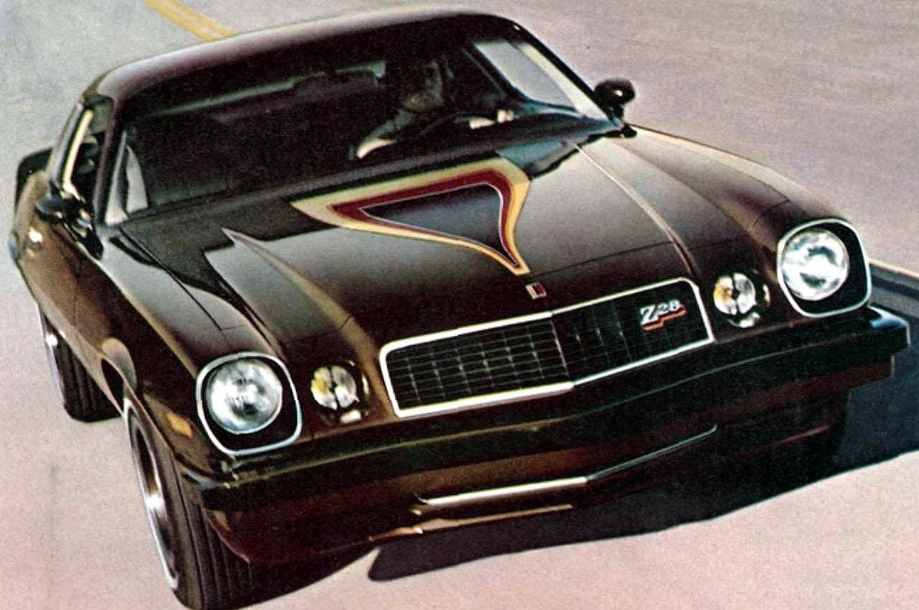 Classic 1970s Camaros from Chevrolet