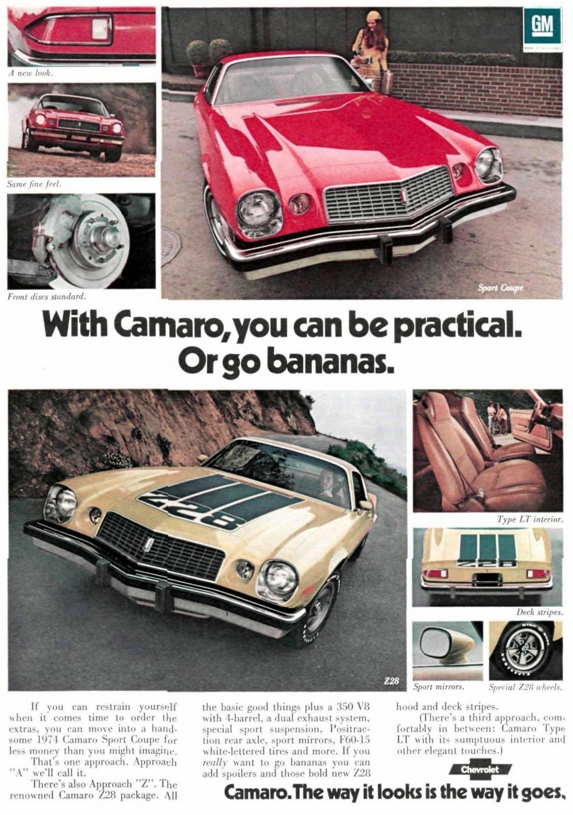 Classic 1974 Camaro