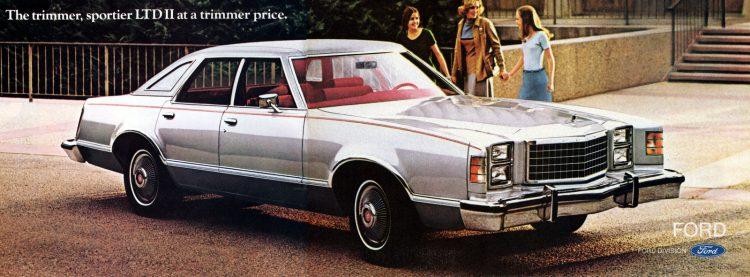 Classic 1977 Ford LTD II cars (1)