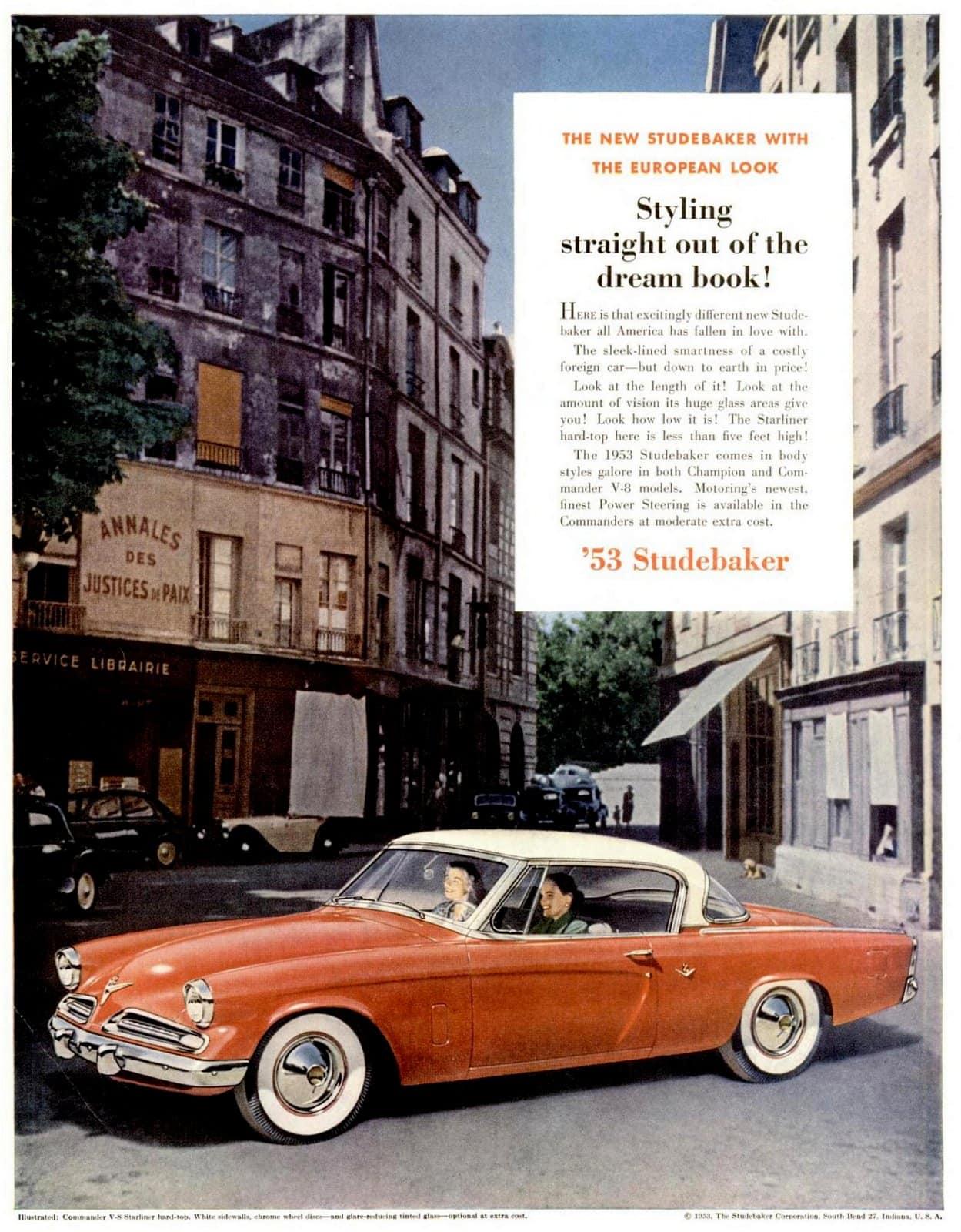 Classic 53 Studebaker