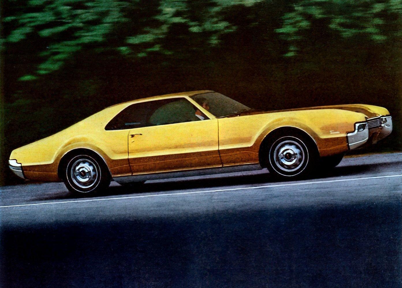 Classic '60s Oldsmobile Toronados were 'rocket action' cars