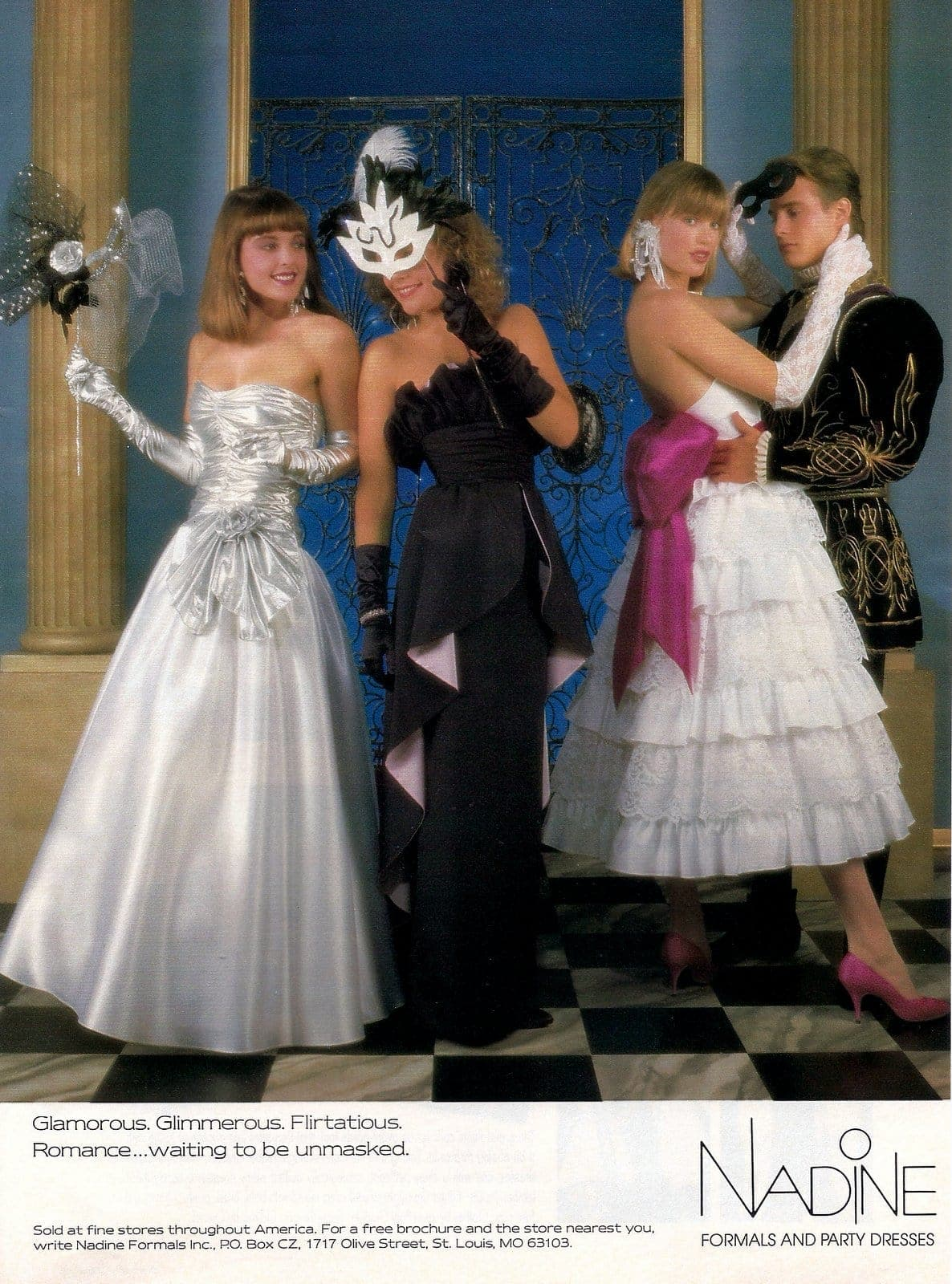 Classic 80s prom dresses (6)